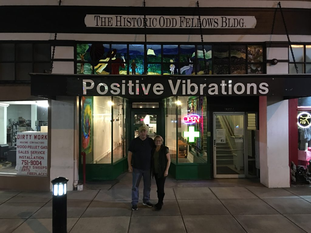 Positive Vibrations New Location